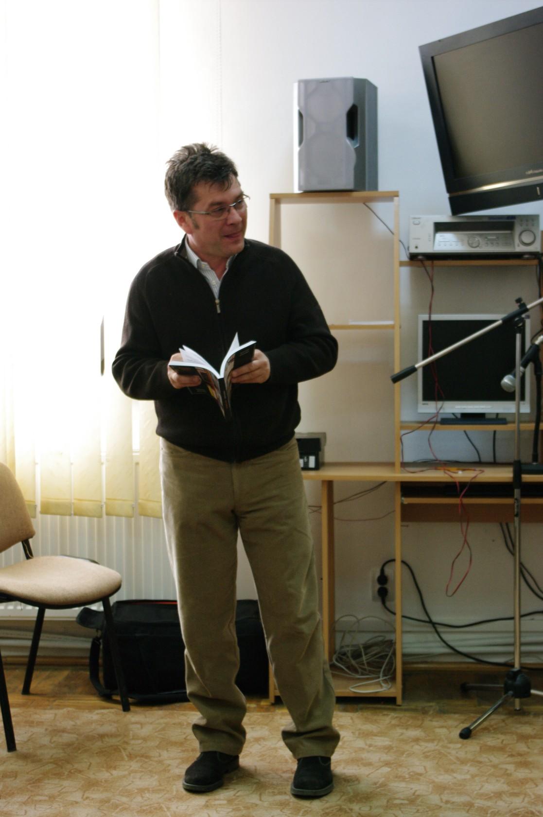 Călin Brăteanu, vorbind inspirat despre carte