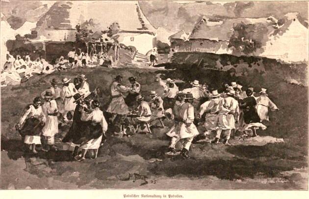 Petrecere ruteană în Podolia, p. 393