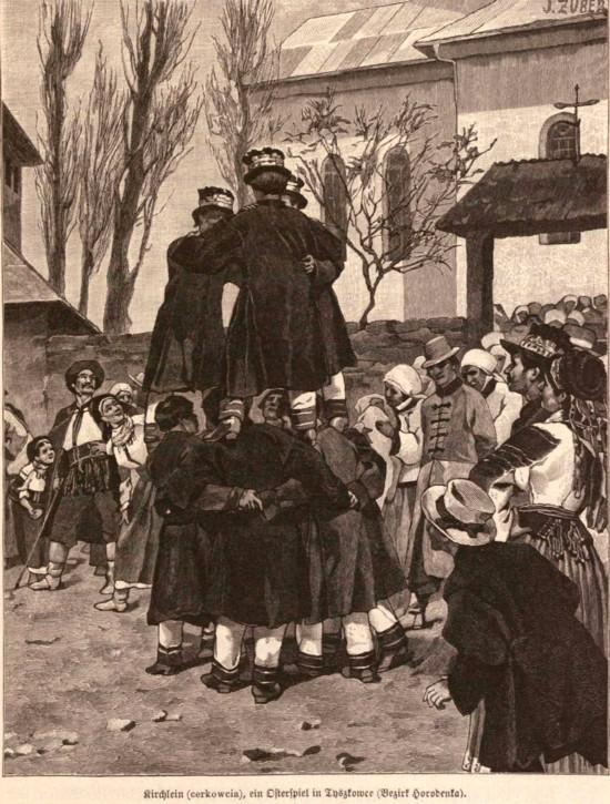Dansul Rutean Cerkowcia, cf. Die österreichisch-ungarische Monarchie in Wort und Bild / 19 Galizien, p 463