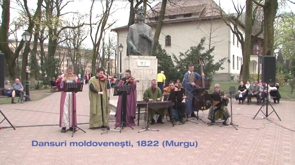 Fonoteca ZICĂLAŞII: Dansuri moldoveneşti, 1822 (Murgu)
