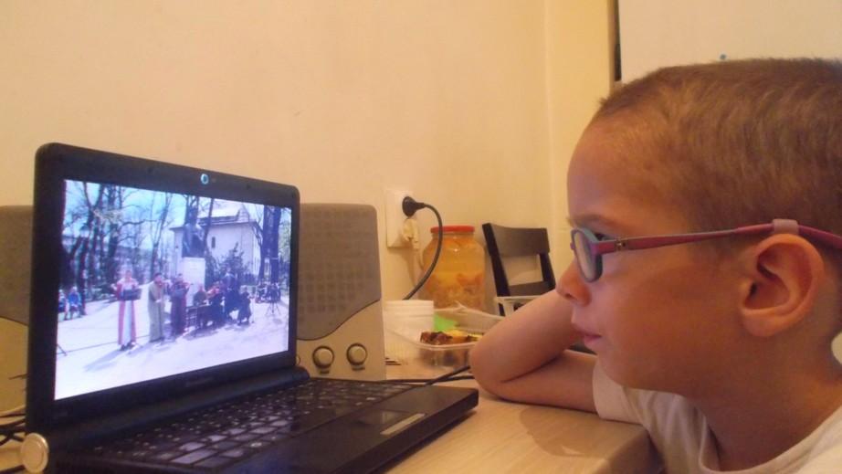 Cel mai mare fan ZICĂLAŞII: Darius-Andrei  - 4 ani