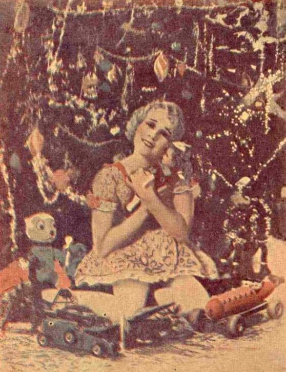 Daruri de Crăciun - Realitatea ilustrată 1929