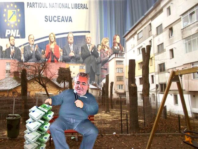 """Ion Lungu: Nu am defrişat parcul, ci doar i-am ademenit cu """"verzişori""""..."""