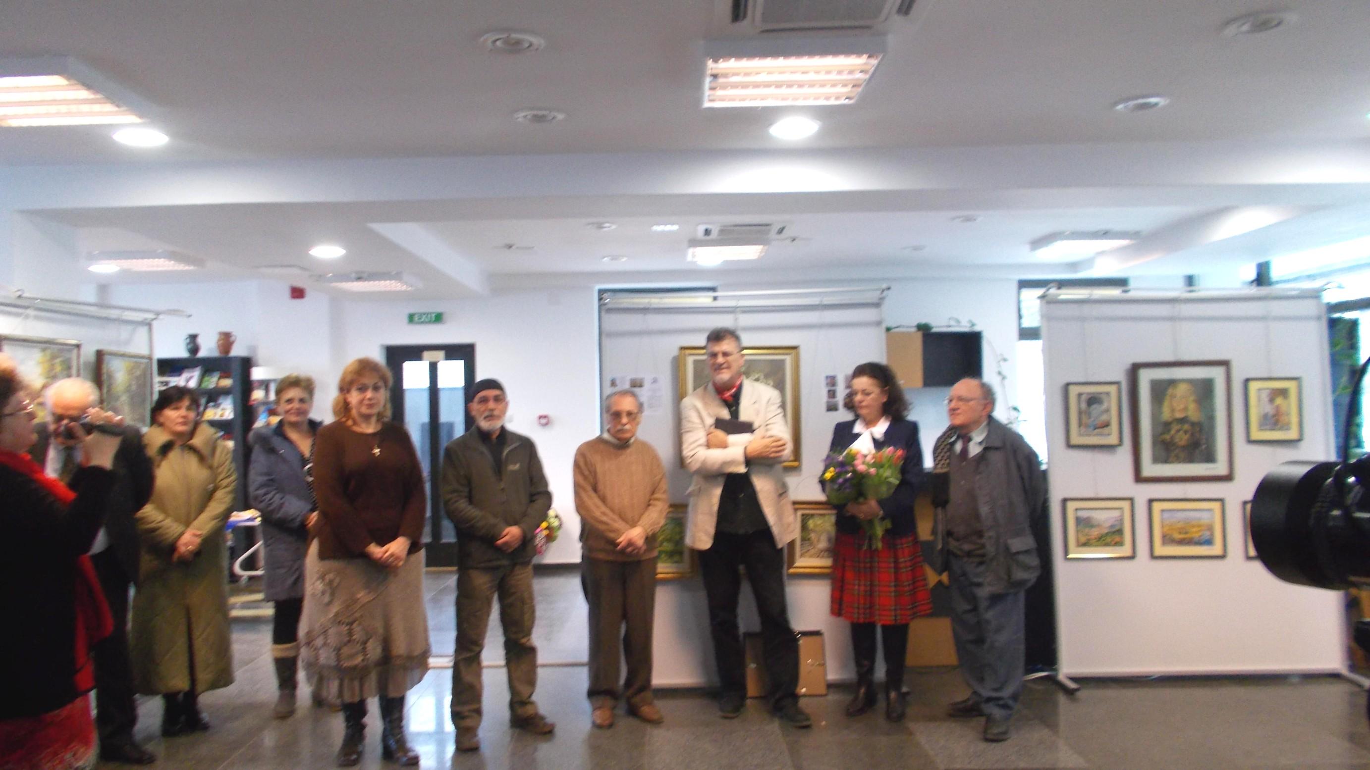 Gabriela Teişanu, deschizând manifestarea