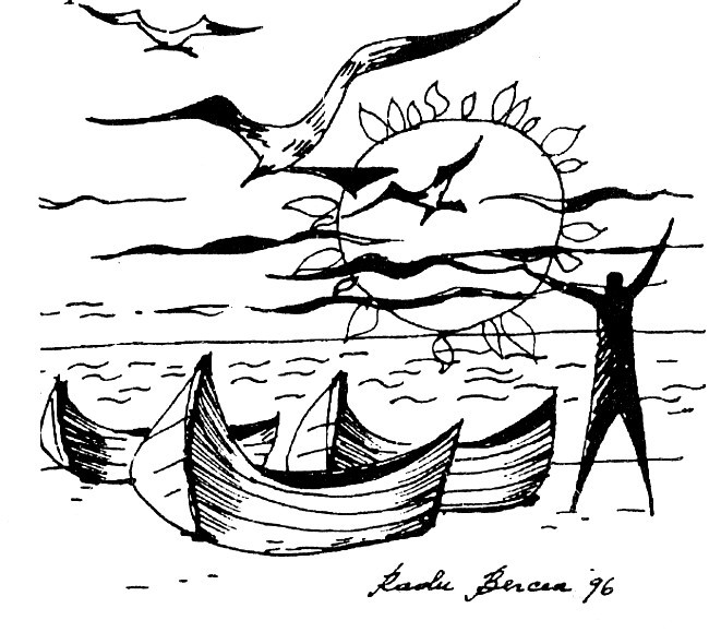 Desen de Radu Bercea 1996