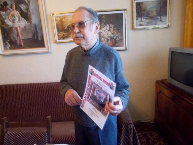 Dimitrie Savu cu diploma