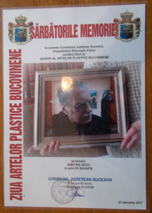 Dimitrie Savu diploma
