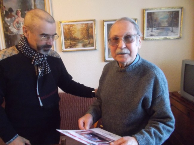 Dimitrie Savu inmanarea diplomei 2