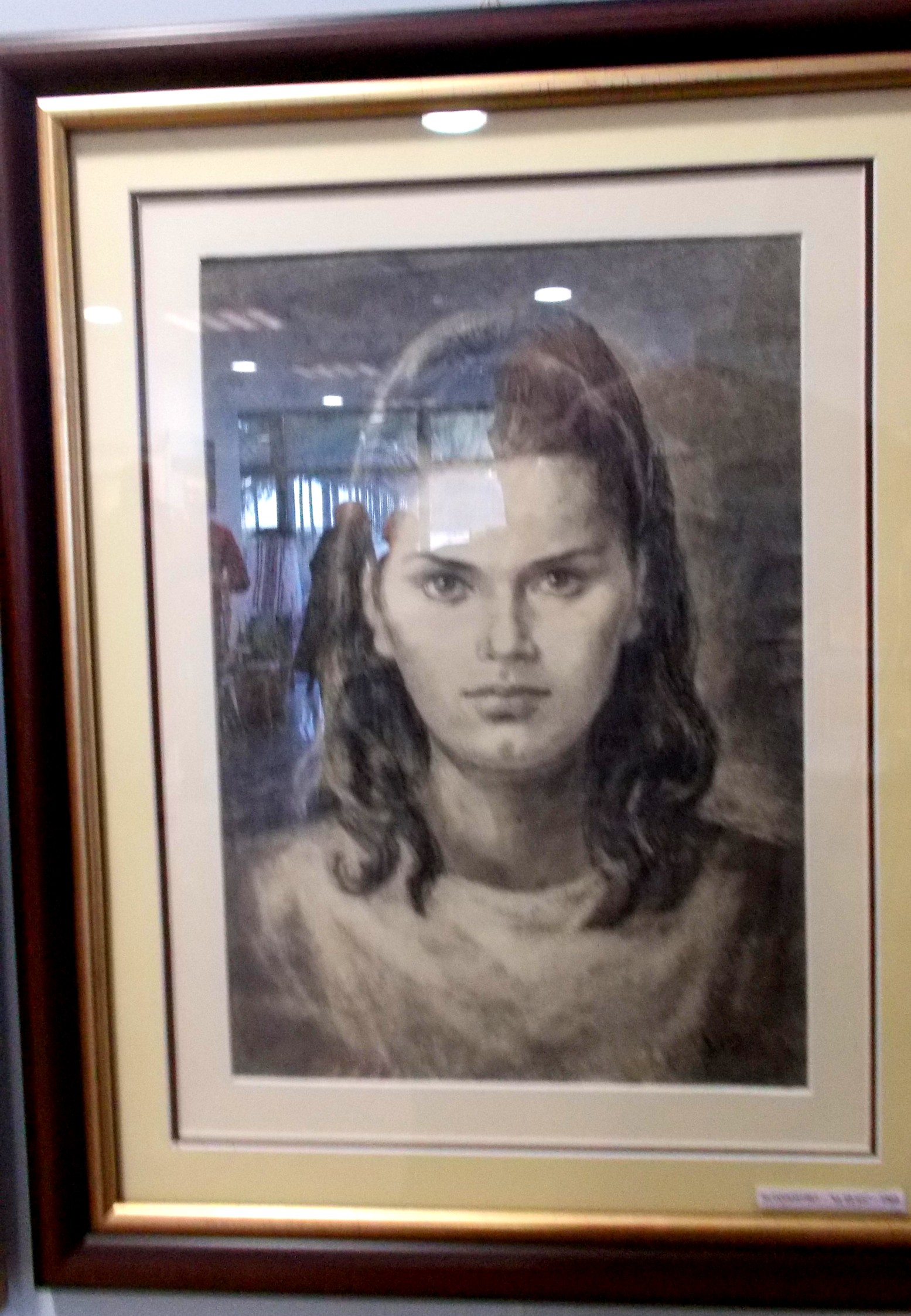 Doina Catargiu, la 19 ani