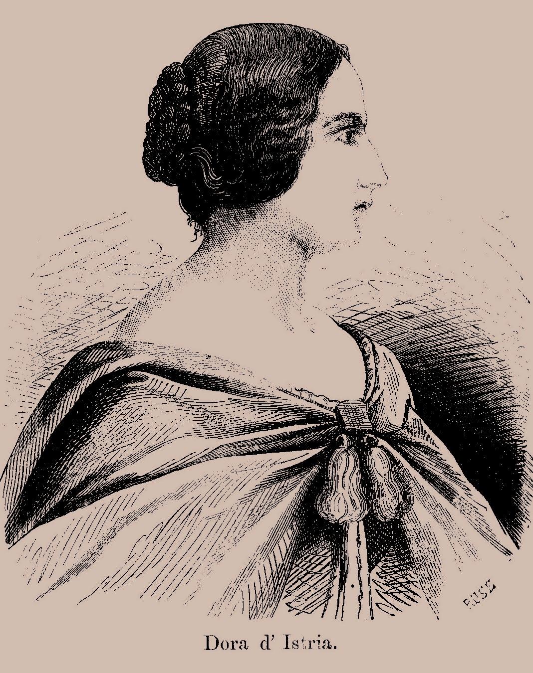 Dora d Istria portret