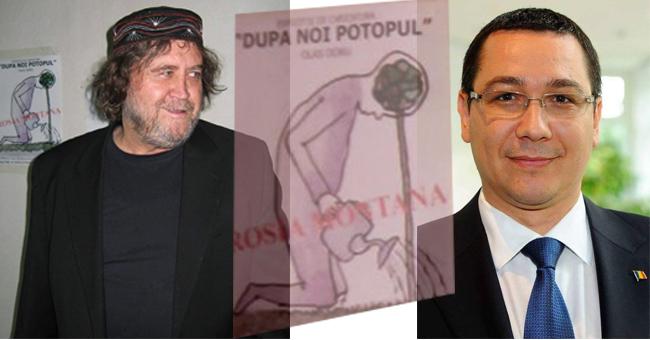 Doru Olaș și Victor Ponta