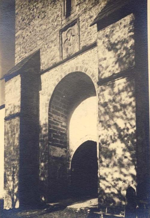 Portalul mănăstirii Dragomirna