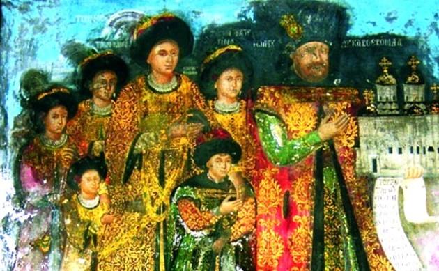 Familia lui Gheorghe Duca Vodă cel Bătrân