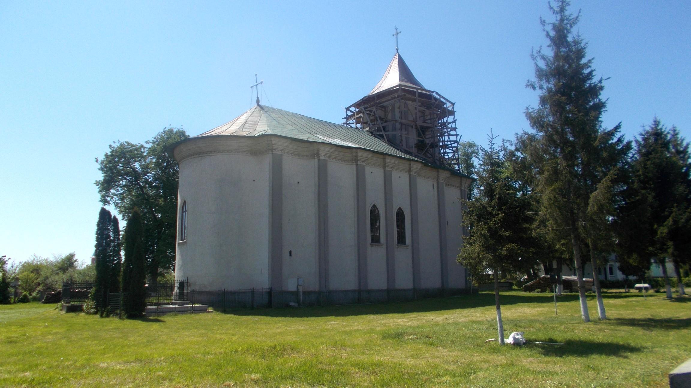 Biserica Adormirii Maicii Domnului din Dumbrăveni, ctitorie, din 1801, a marelui vistiernic Iordachi Balş