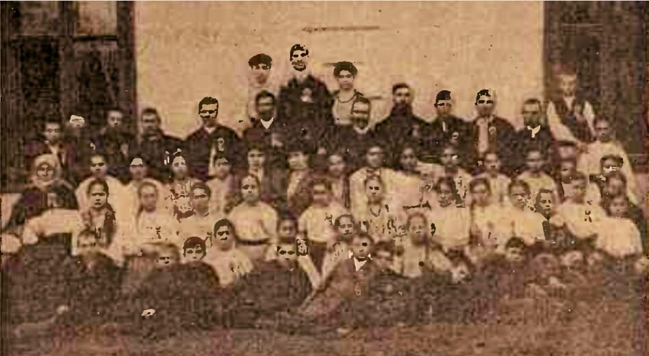 Corul din Dumbrăveni în 1907 - Calendarul Minervei pe 1907, p. 135