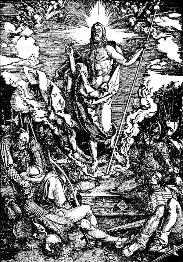 Durer, Învierea - Universul literar, 1927