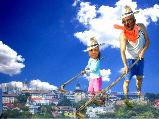 """Primarul Lungu, către viceprimarul Doroftei: """"Prăşeşte doar buruienile: unde vezi verde, tai!""""."""
