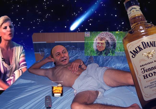 Traian Băsescu: Şi tu, Nuţi, vii sub acoperire? Nu-mi ajunge Iohannis, care şi-a pus... ACL?