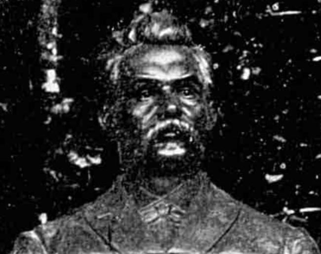 EMINESCU bustul din Dumbraveni detaliu bust