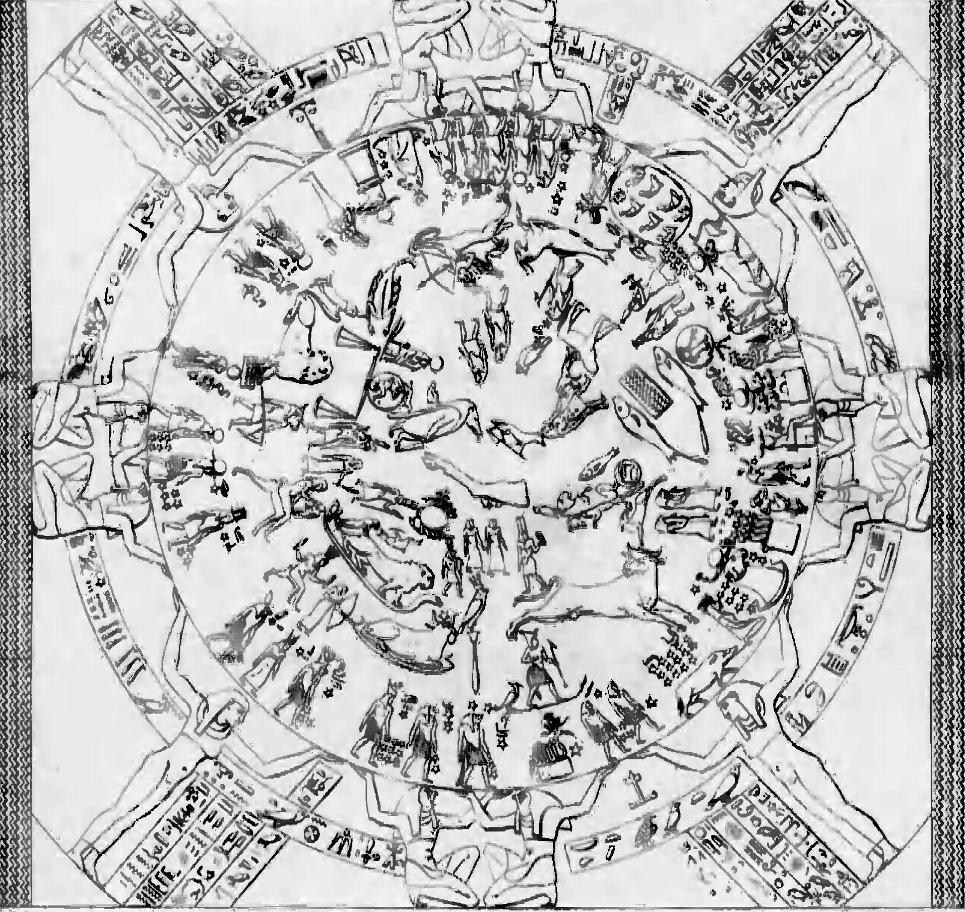 Zodiacul, în Egyptian Mythology A to Z, p. 221