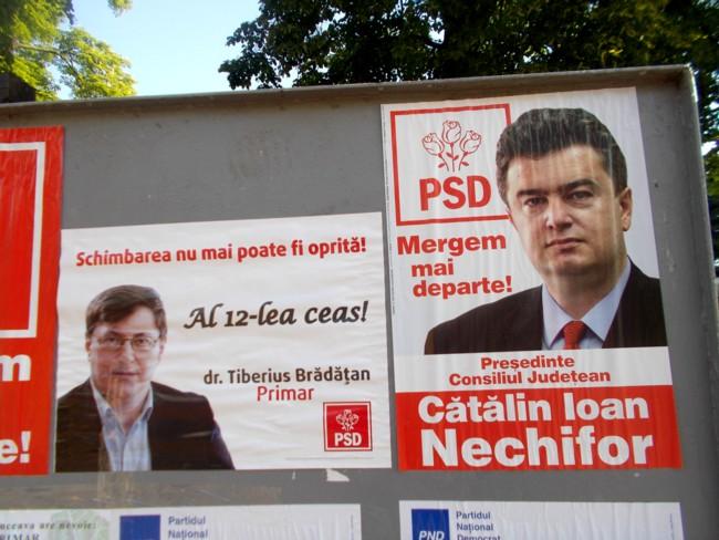 Electorale Bradatan si Nechifor