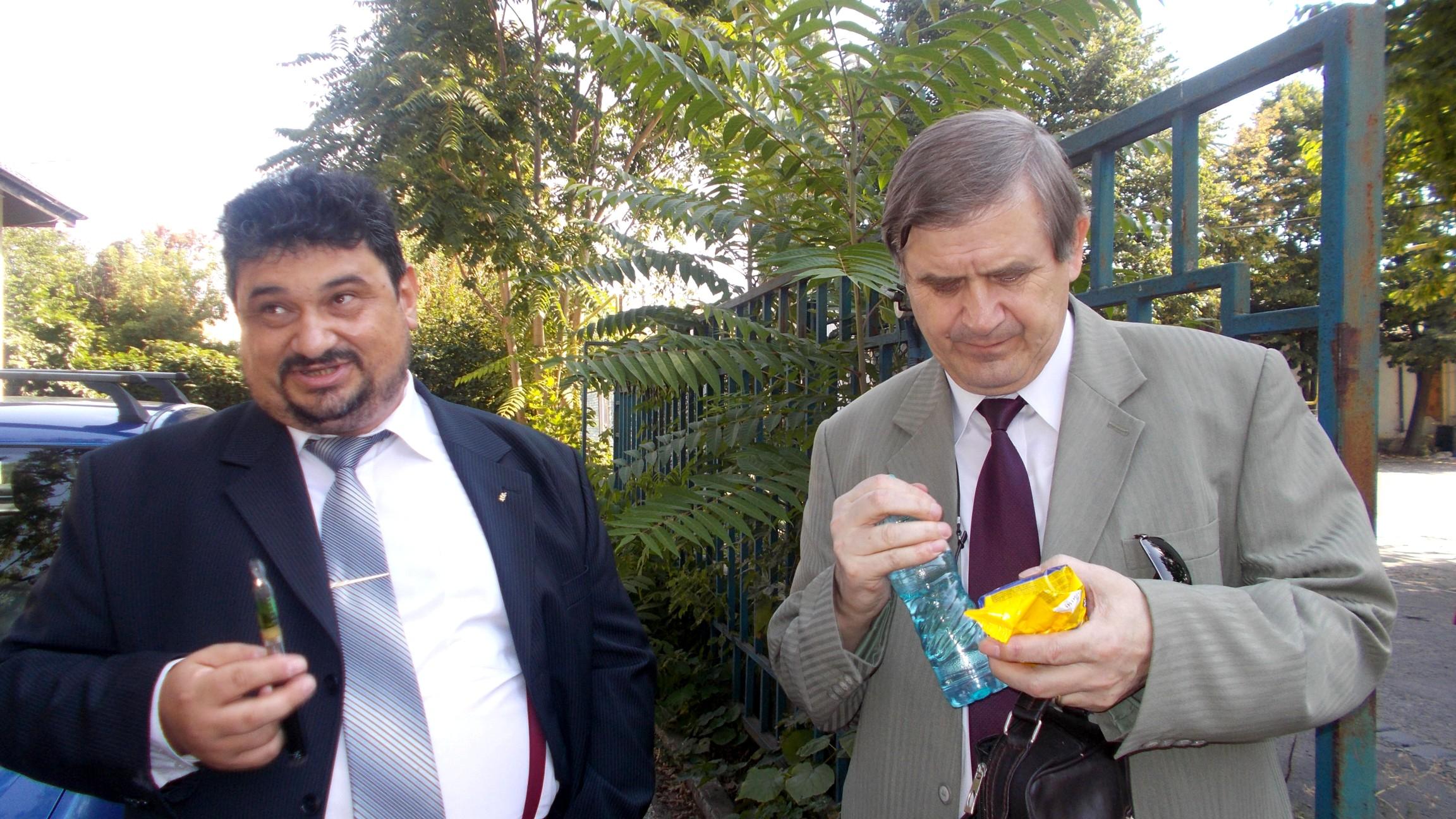 Constantin-Emil Ursu și Viorel Varvaroi