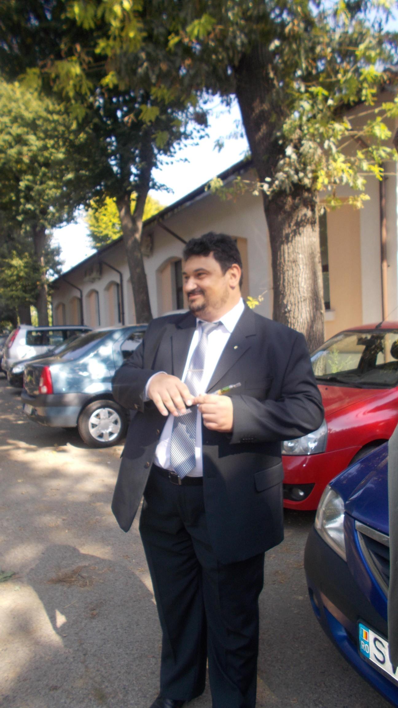 Drd Constantin-Emil Ursu, înainte de a pierde un... d