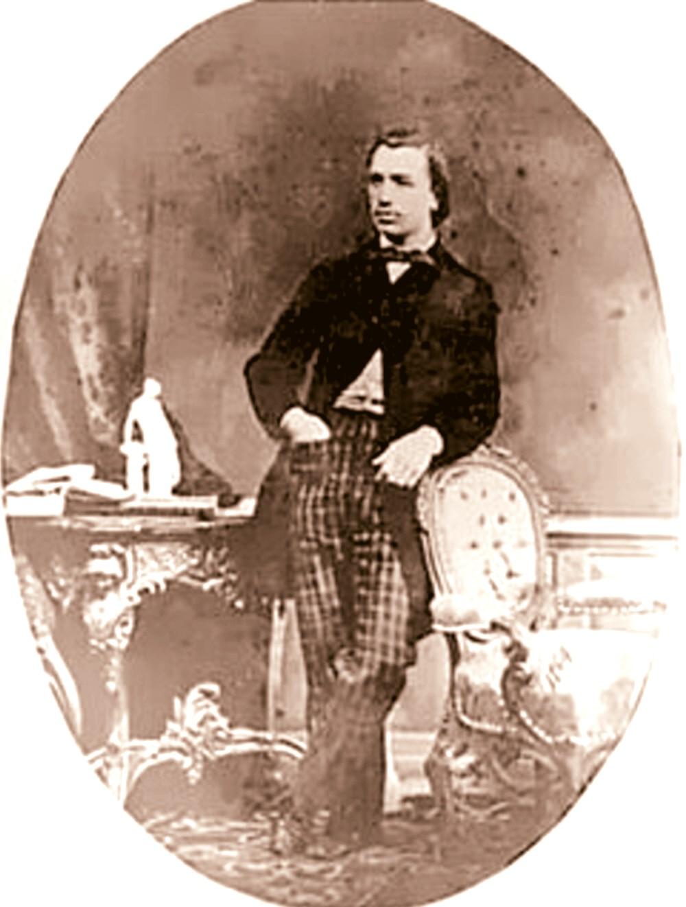 Mihai Eminescu, în 1873