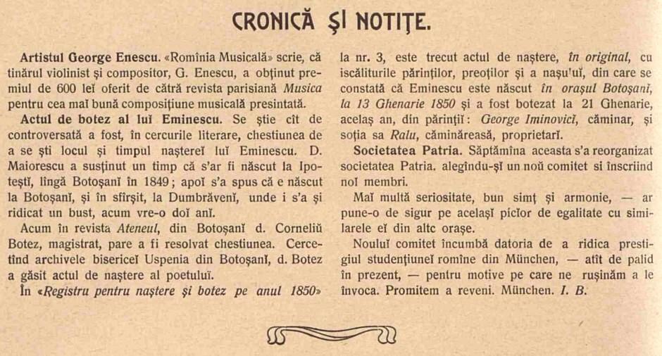 Luceafărul, nr. 5/1904, p. 126
