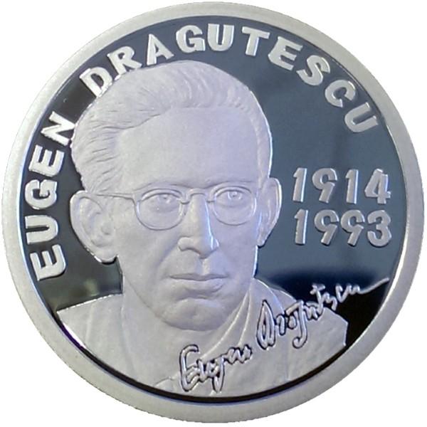 Emisiunea numismatică EUGEN DRĂGUŢESCU - revers