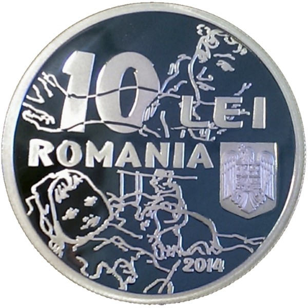 Emisiune numismatică EUGEN DRĂGUŢESCU - avers