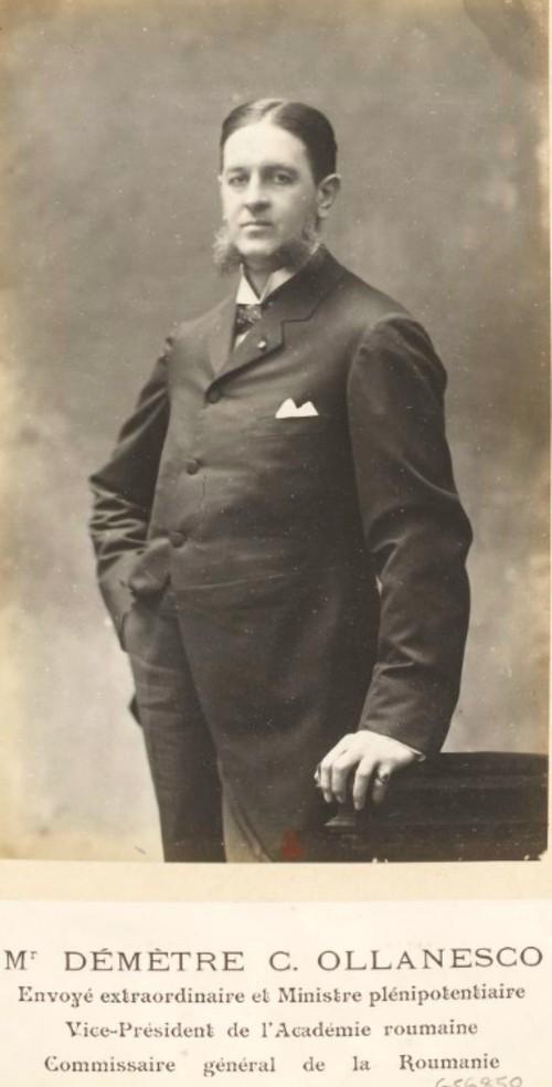GALLICA: Expoziţia Universală din 1900, comisarul României Dimitrie Olanescu