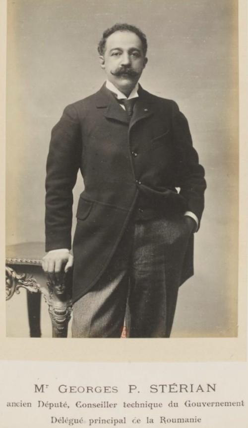 GALLICA: Expoziţia Universală din 1900, comisarul României George P. Sterian