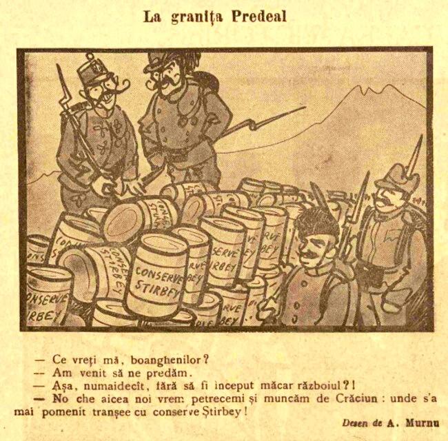 FURNICA de Craciun 1915 La granita Predeal