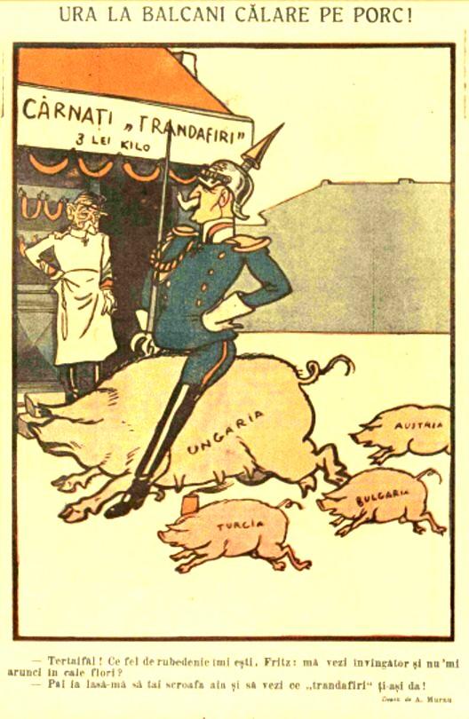 FURNICA de Craciun 1915 antihabsburgica