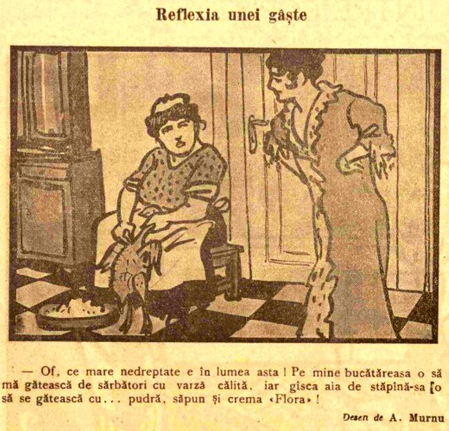 FURNICA de Craciun 1915 reclama Reflexia unei gaste