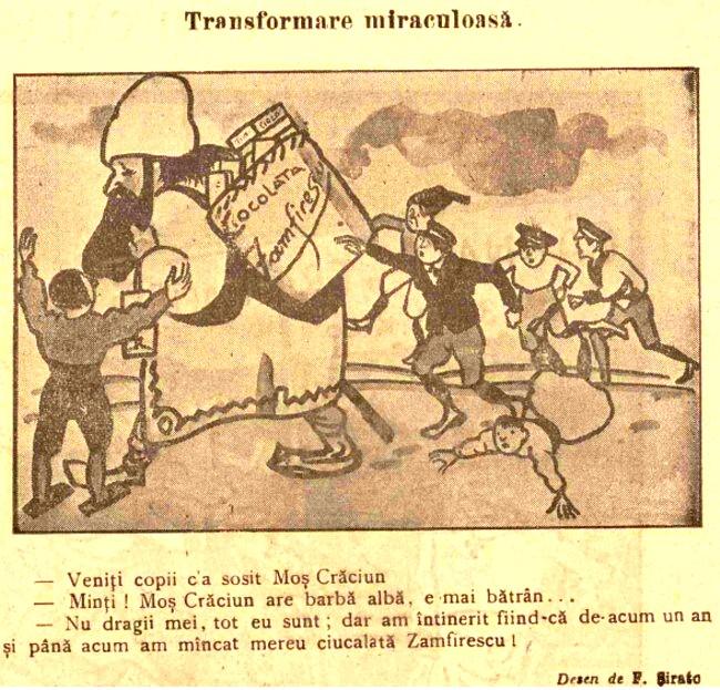 FURNICA de Craciun 1915 reclama