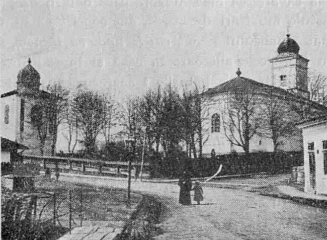 Fălticeni, Biserica Sfântului Ilie, cu vechea clopotniţă