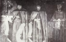 Vasile Lupu şi familia lui.