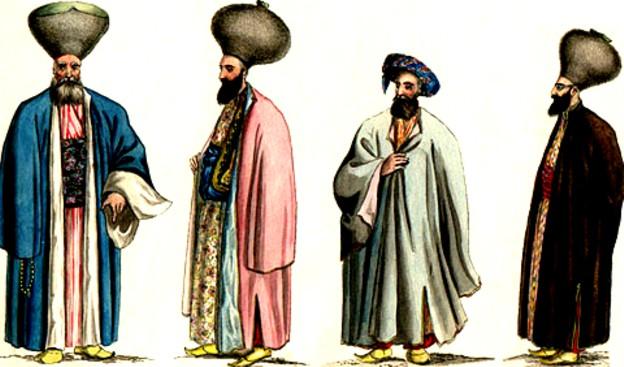 Boieri moldoveni, în portul fanariot al vremii