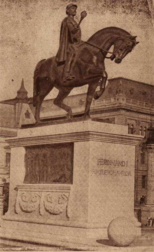 Ferdinand I statuie Oradea COSANZEANA 24 dec 1924