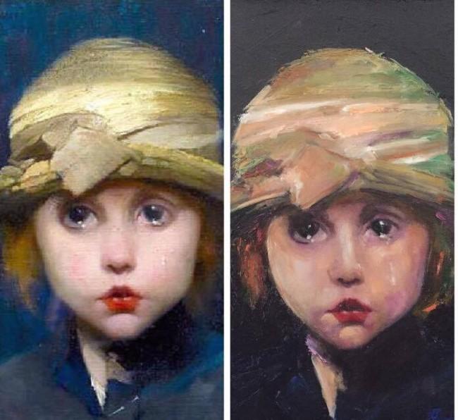 Fetita pictura de Carmel Georgescu