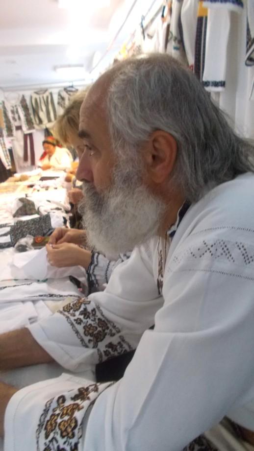 Sculptorul Florin Cramariuc