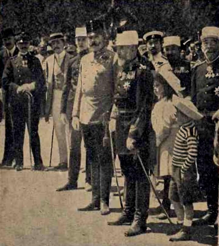 Franz Ferdinand şi Carol I, la Sinaia