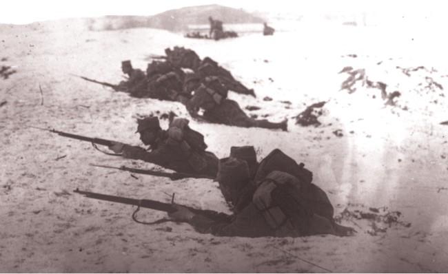 GALLICA, 1915: Infanteria română