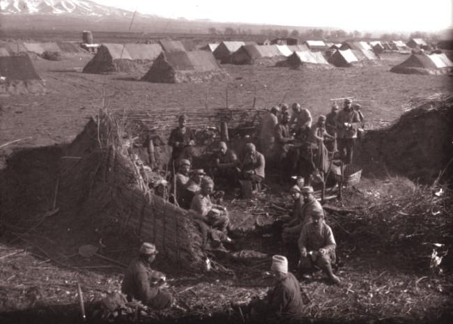 GALLICA, 1918: Popas pe bucla Cernei