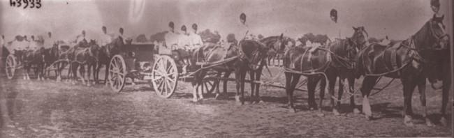 GALLICA; Artileria română, în 1915