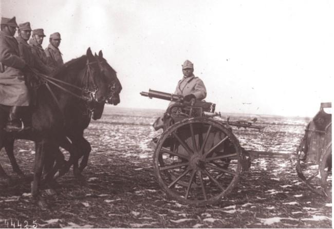GALLICA: Cavaleria română, în 1915