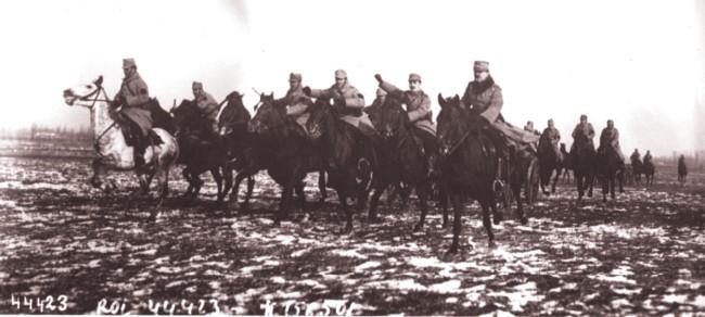 GALLICA: Şarja cavaleriei române, în 1915