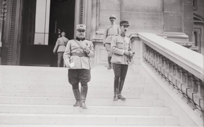 GALLICA: Generalul Iliescu, la Conferinţa aliaţilor de la Paris, 25 iulie 1917